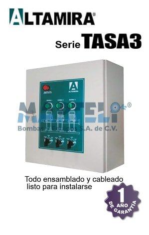 tablero altamira serie tasa3 alternador simultaneador
