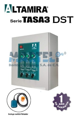 tablero altamira serie tasa3 dst alternador simultaneador