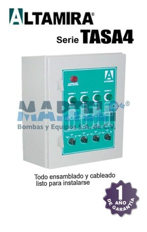 tablero altamira serie tasa4 alternador simultaneador