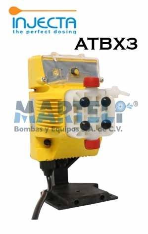 Bomba Dosificadora Marca INJECTA Modelo ATBX3