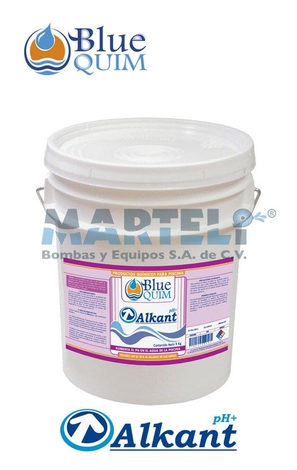 Químico para piscina Alkant de Blue Quim