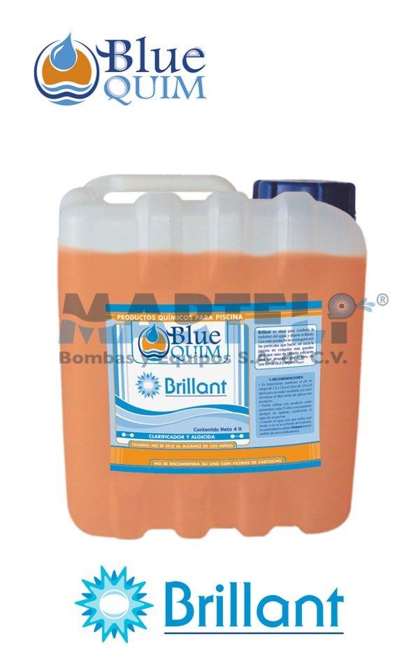 Químico para piscina Brillant de Blue Quim