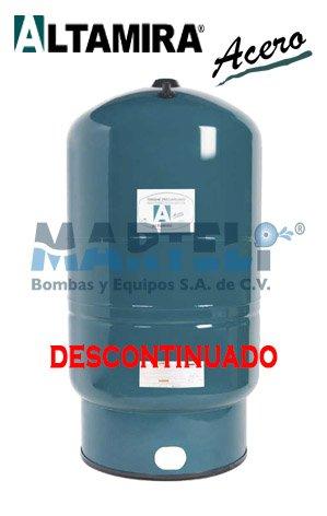 Tanque Precargado Altamira Acero